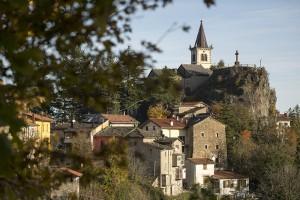 Panoramica di Castelluccio di Porretta Terme