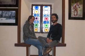 Fabio Quinto e Gabriella Rizzardini al castello